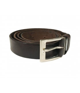 Brown Handcrafted Leather Belt