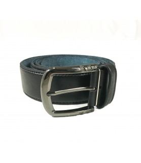 Black Hancrafted Leather Belt
